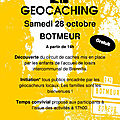 Geocaching botmeur