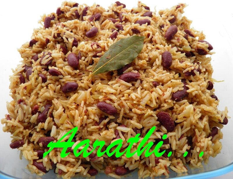 Jamaican Red Bean Rice - Hobbies