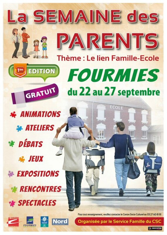 Affiche semaine parents2014