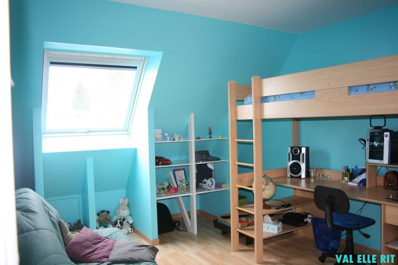quelle couleur associer au bleu turquoise great image intitule mix colors to get turquoise step. Black Bedroom Furniture Sets. Home Design Ideas