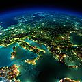 pollution lumineuse italie europe