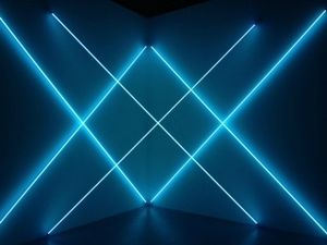 5 Exposition Dynamo, Grand palais, Paris, François Morellet, Triple X Neonly