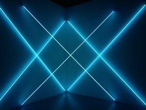 5 Exposition Dynamo, Grand palais, Paris, François Morellet, Triple X Neonly