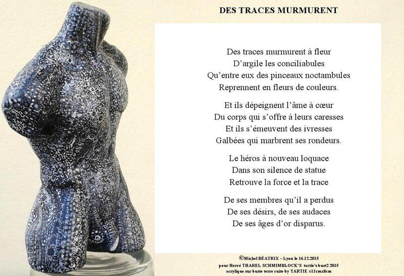 DES TRACES MURMURENT 16