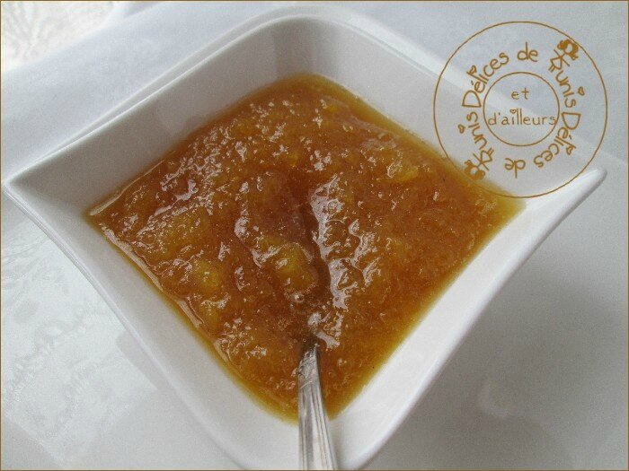 confiture ananas - vanille 2