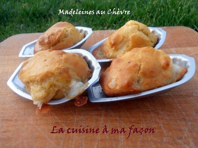 madeleines chèvre 2