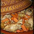 P'tit tajine poulet, lgumes et citrons confits