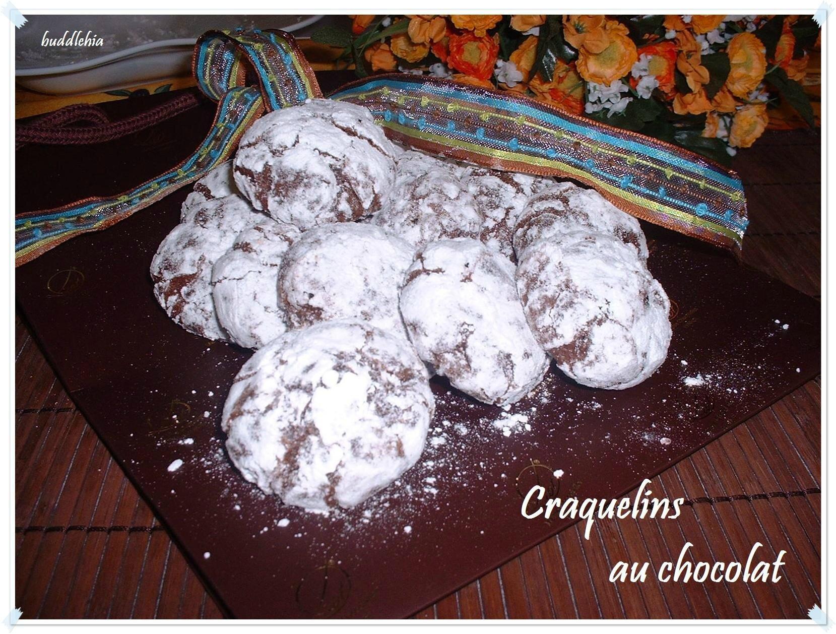 Les biscuits craquelés au chocolat de Martha Stewart