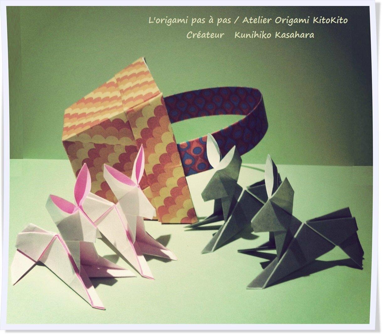 lundi de p ques 2016 lapin16 l 39 origami pas pas. Black Bedroom Furniture Sets. Home Design Ideas
