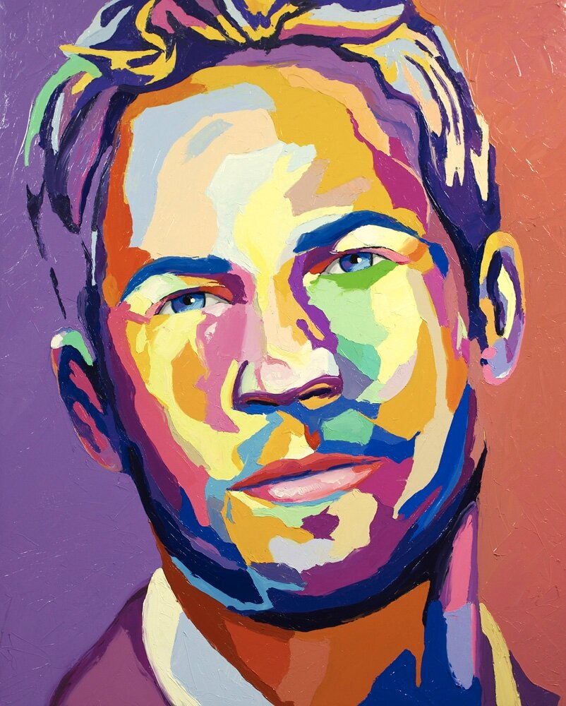 Paul walker christophe daras artiste peintre for Artiste peintre pau