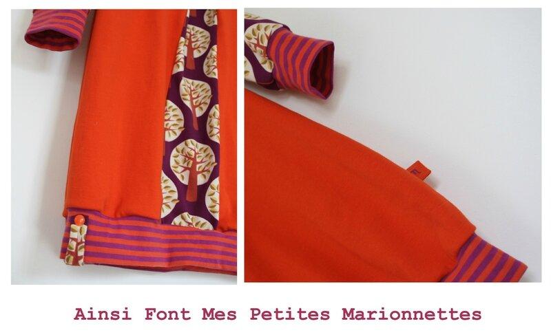 robe orange arbre 3