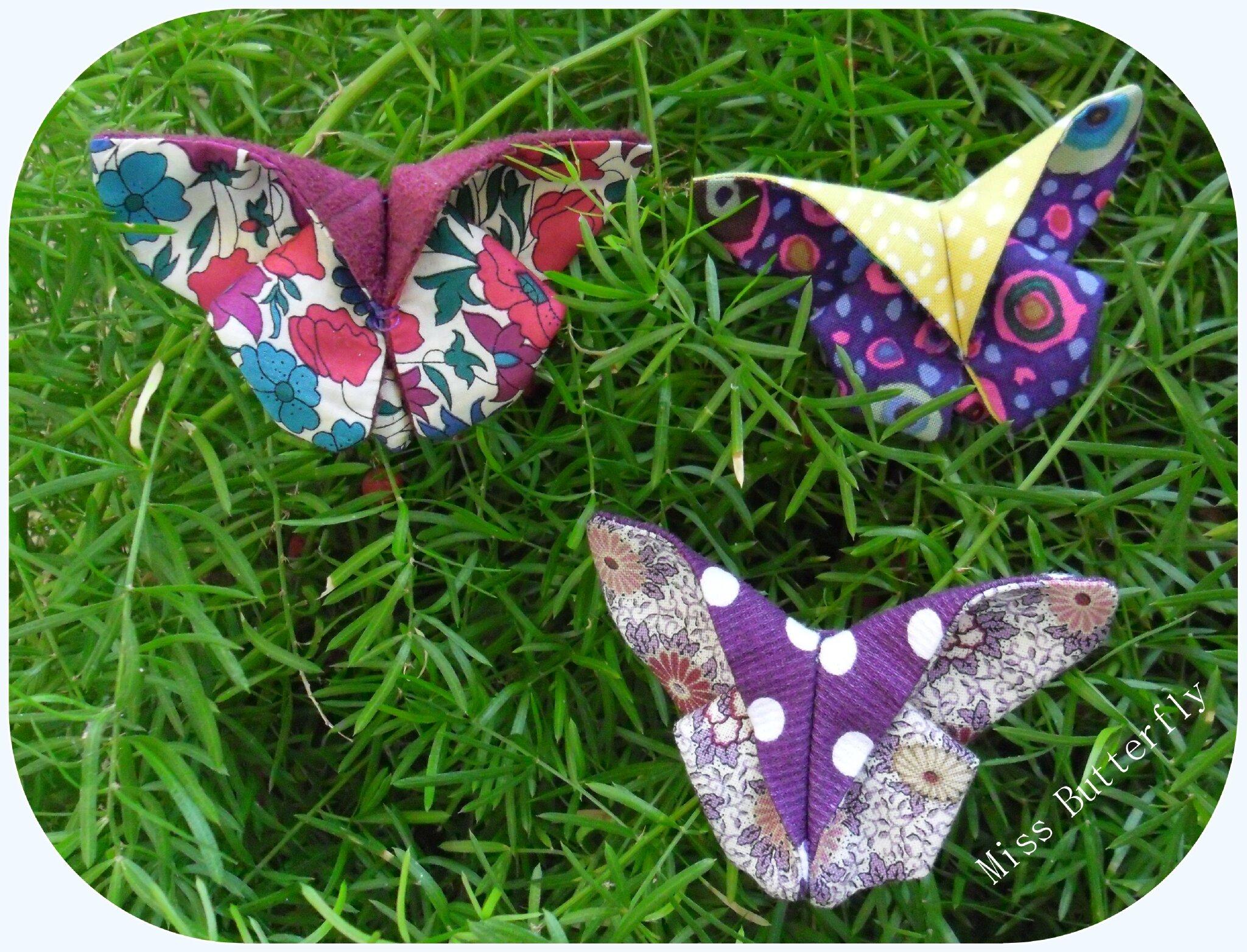 Barettes papillons