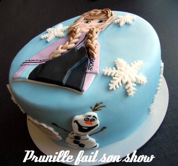 gateau frozen prunillefee