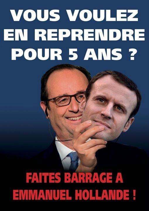 Hollande Macron idem