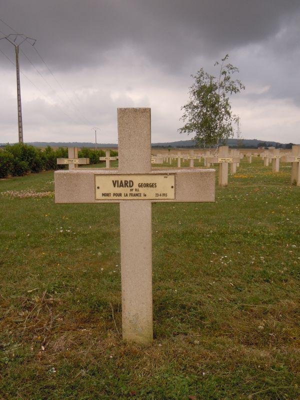 Bolbec, Viard Georges, NN Cormicy (Marne)
