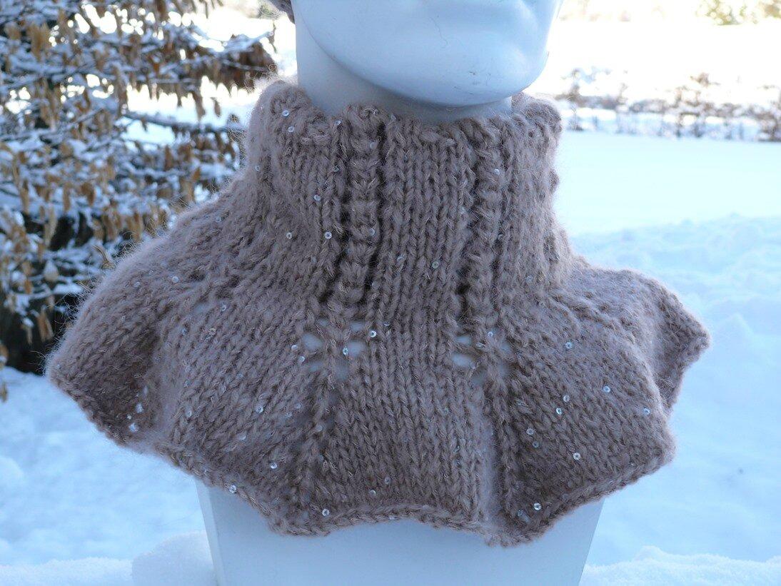 Comment tricoter un col roule - Comment tricoter des chaussettes en laine ...