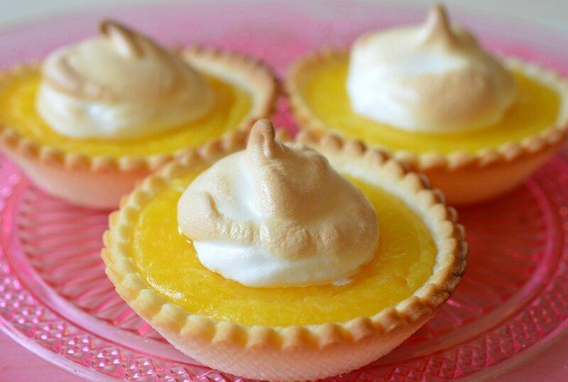Tartelettes au citron meringué