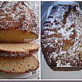 Cake au citron ( pierre hermé)