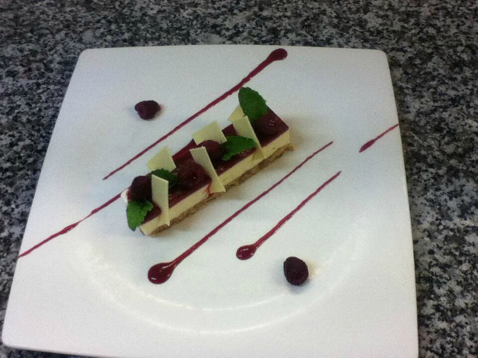 Cheese cake fruit rouge2