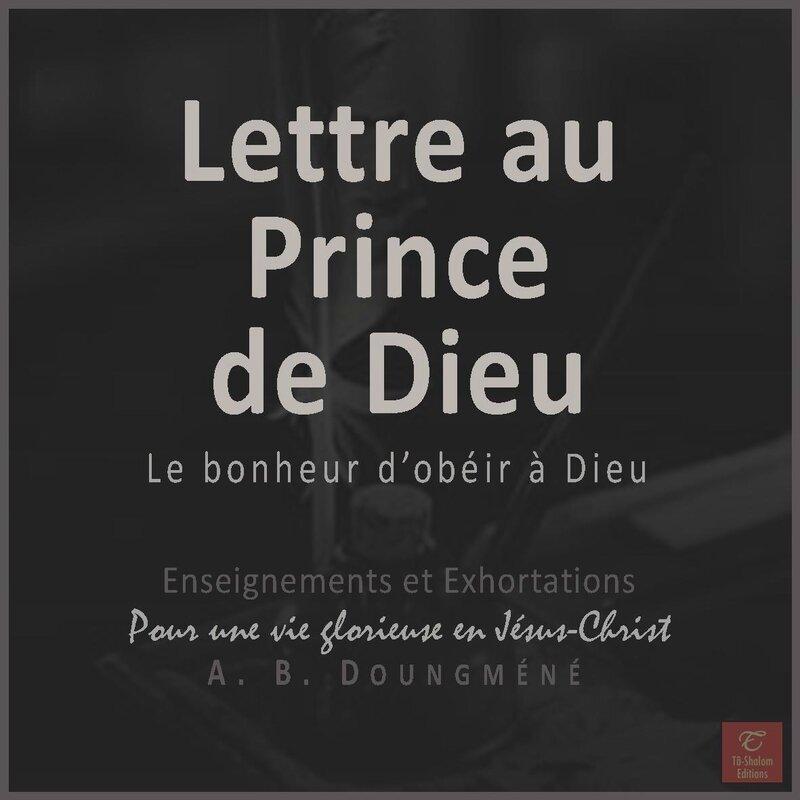 lettre au prince-edp livre d'édification