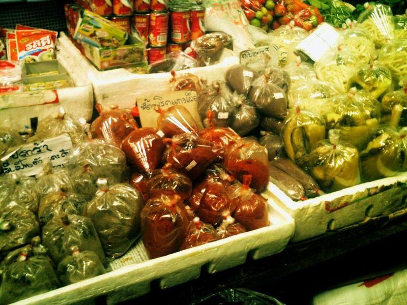 Mae Hong Son - sachets de sauce