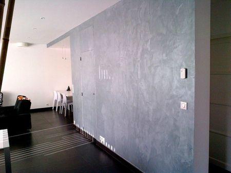 Enduit effet m tal 1 air 2 d co for Enduit pour beton cellulaire interieur