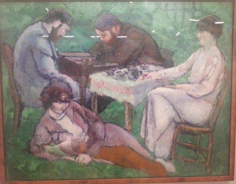 La Partie d'échecs 1910