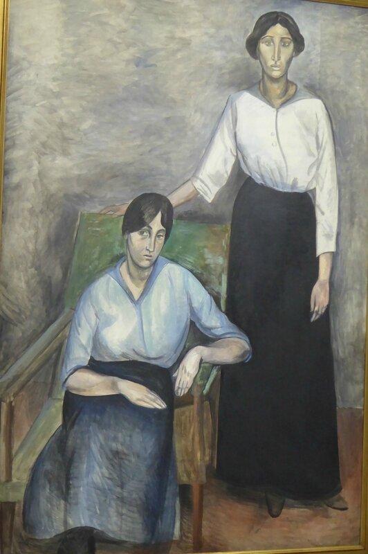 Derain Les deux soeurs détail 1914