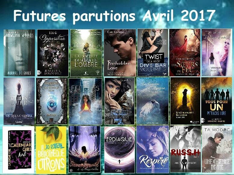 futures parutions avril 2017