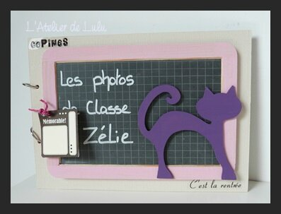album photos de classe chat