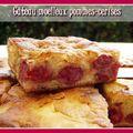 Gâteau moelleux pommes-cerises