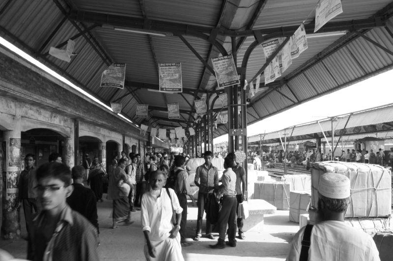 A la gare