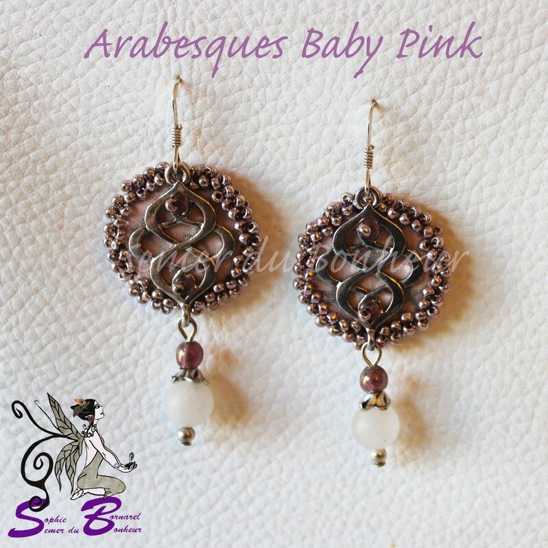 arabesques baby pink