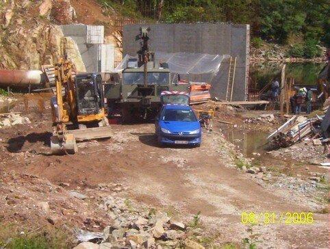 Travaux en 2006