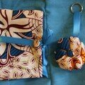 les bidouilles en plus : porte-clé et pochette