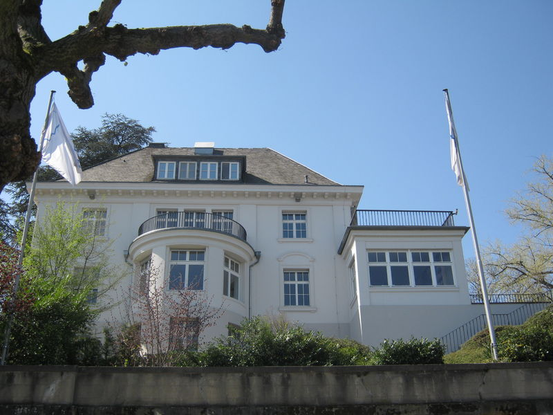 Les belles maisons de Bonn