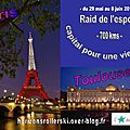 Rallier Paris  Toulouse en Roller Ski... un dfi gnreux et tonnant!