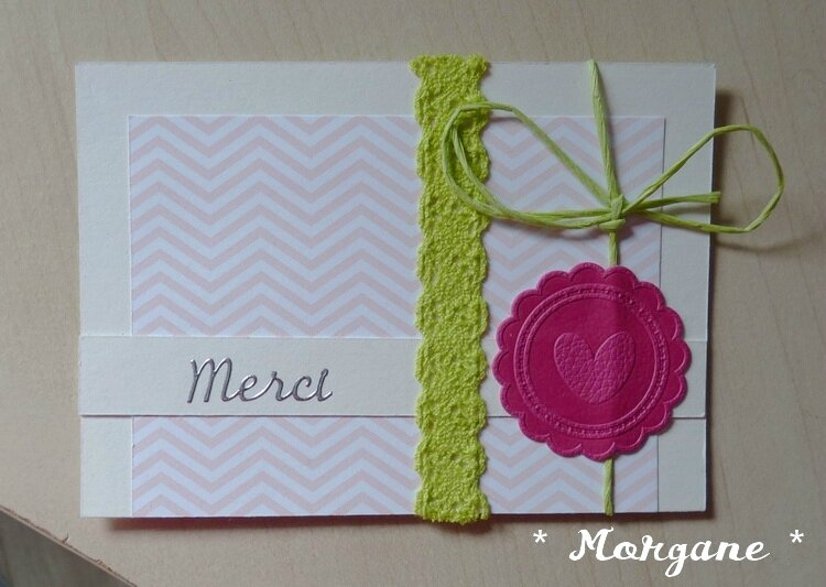 Carte merci Morgane