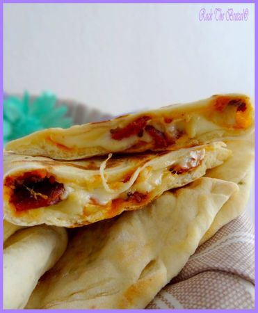Cheese naans curré nantais chorizo