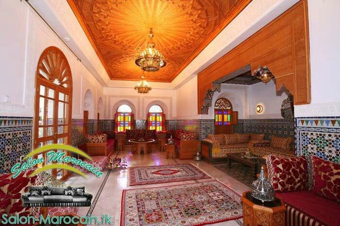 Salon Marocain Riads Marrakech Fabuleux Salon Marocain