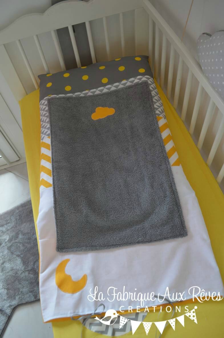 deco chambre bebe jaune et gris. Black Bedroom Furniture Sets. Home Design Ideas
