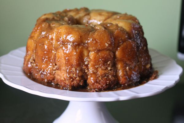 monkey bread brioche cannelle pecan blog chez requia cuisine et confidences
