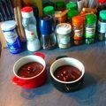 Moelleux choco-caramel en cocotte