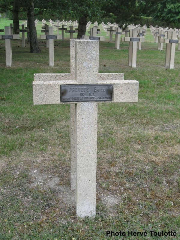 Beuzeville, Prévost Eugène, NN Ste Menehould (Marne)