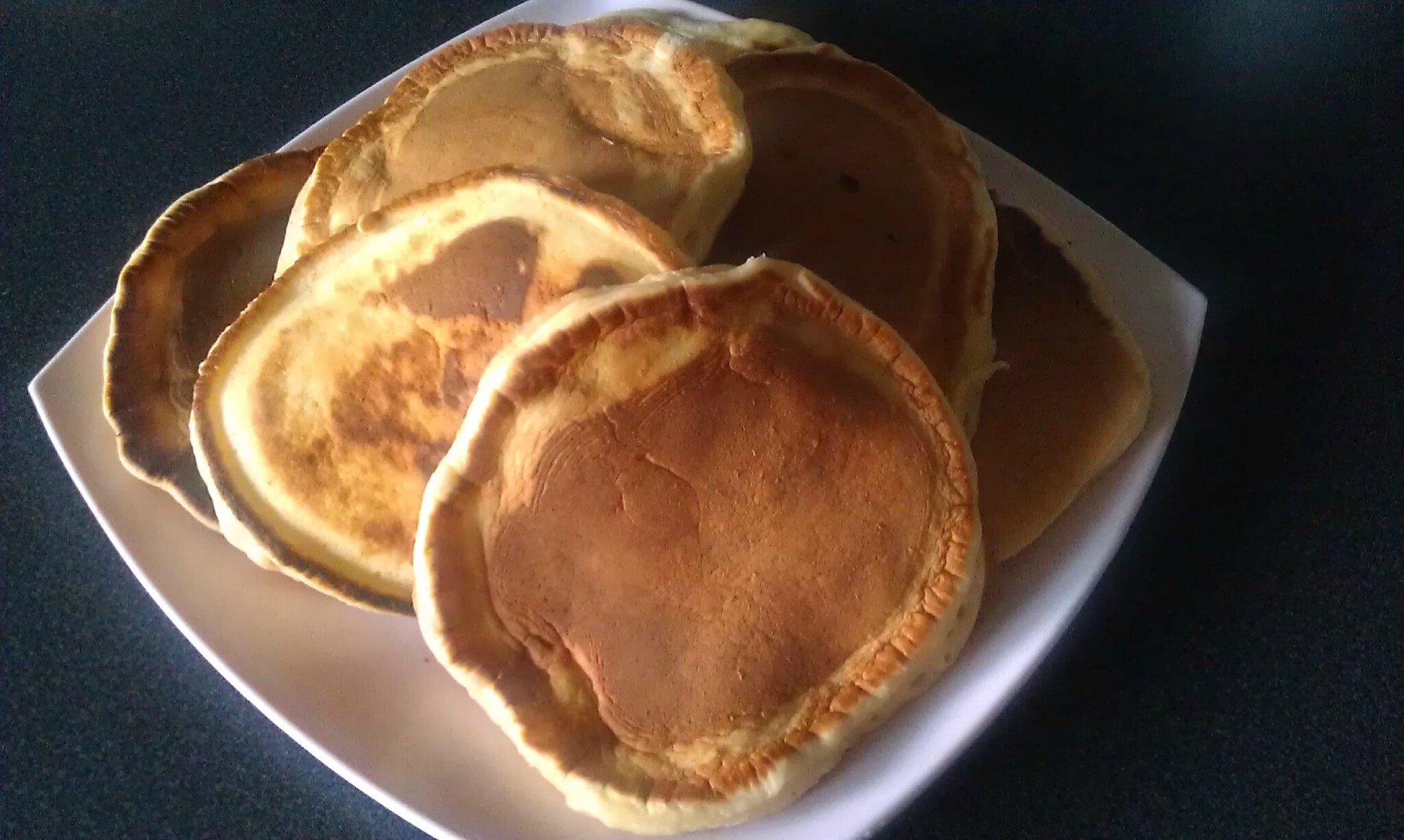 pancakes au lait fermenté (elben)