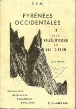 Guide R Ollivier Pyrénées Occidentales 2 de la vallée d'Ossau a