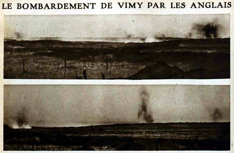 Bombardement de VImy1