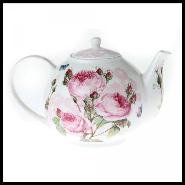 th i re tasse soucoupe serviettes papier roses romantiques ambiance styles le blog. Black Bedroom Furniture Sets. Home Design Ideas
