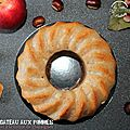 Gâteau aux pommes et à la farine de châtaignes