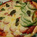 Pizza classique, sans gluten et sans lactose